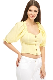Lumiere Puff Sleeve Blouse - Product Mini Image