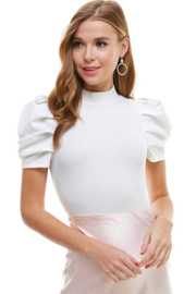 TCEC Puff Sleeve Bodysuit - Product Mini Image