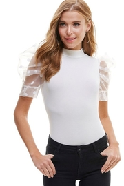 TCEC Puff Sleeve Bodysuit - Front cropped