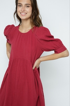 A Beauty by BNB  Puff Sleeve Dress - Product List Image