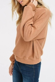 Listicle Puff-Sleeve Knit Top - Side cropped