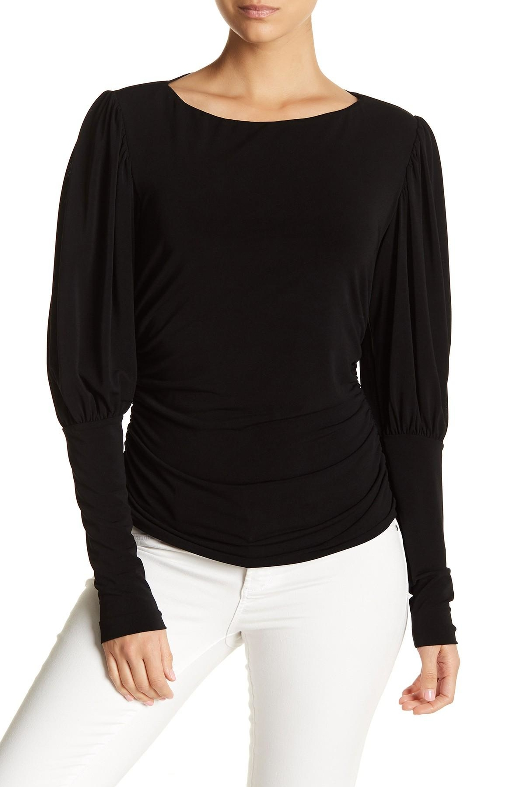 Nicole Miller Puff Sleeve Top - Main Image