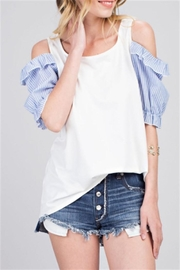 143 Story Puff Sleeve Top - Product Mini Image