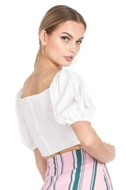 Dance and Marvel Puff Sleeve Top - Side cropped