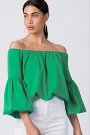 Trend Shop Puff Sleeve Top - Product Mini Image