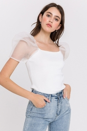 Endless Rose Puff Sleeve Top - Product Mini Image