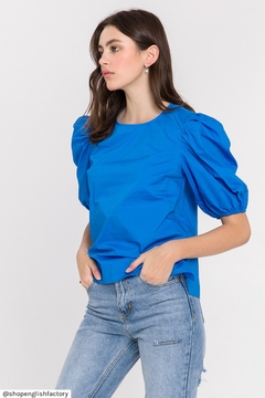 Endless Rose Puff Sleeves Top - Product List Image