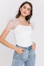 Endless Rose Puff Top - Product Mini Image