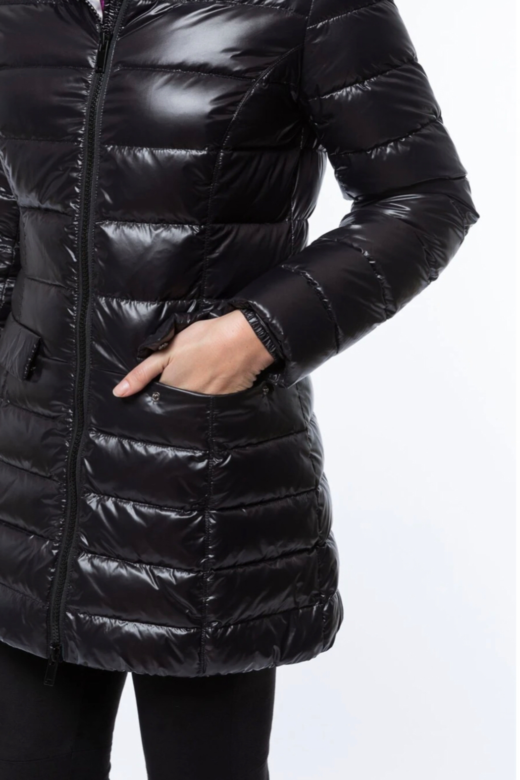 Tyler Boe Puffer Coat - Side Cropped Image