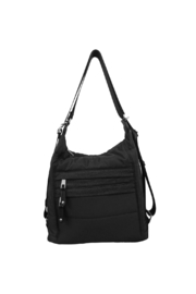 Sondra Roberts Puffer Convertible Hobo - Front cropped