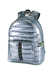 Top Trenz Puffer Gunmetal Backpack with BOLT strip - Product Mini Image
