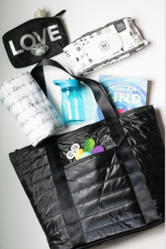 Hi Love Puffer Tote - Product List Image
