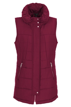 Shoptiques Product: Puffer Vest W/zippers