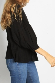 Mod Ref Puffsleeve Top, Black - Other