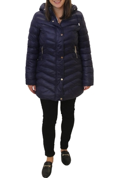 Shoptiques Product: Puffy Hooded Jacket