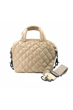 Allie & Chica Puffy Minibag in Gold - Alternate List Image