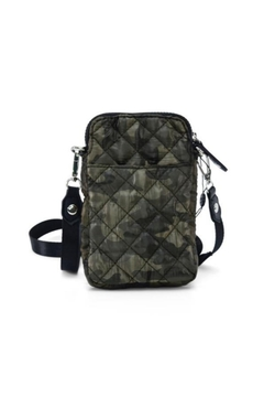 Shoptiques Product: Puffy Phone Holder in Camo