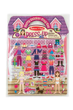 Shoptiques Product: Puffy Sticker Play Set Dress Up