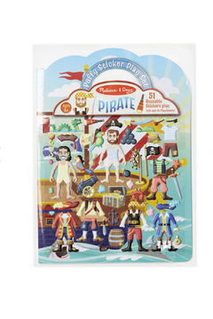 Melissa & Doug Puffy Sticker Play Set Pirate - Alternate List Image
