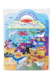 Melissa and Doug Puffy Sticker Playset - Ocean - Product Mini Image
