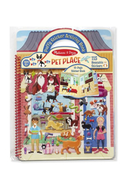 Melissa and Doug Puffy Stickers Activity Book Pet Place - Product Mini Image