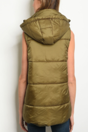 WFS Puffy Vest - Front full body