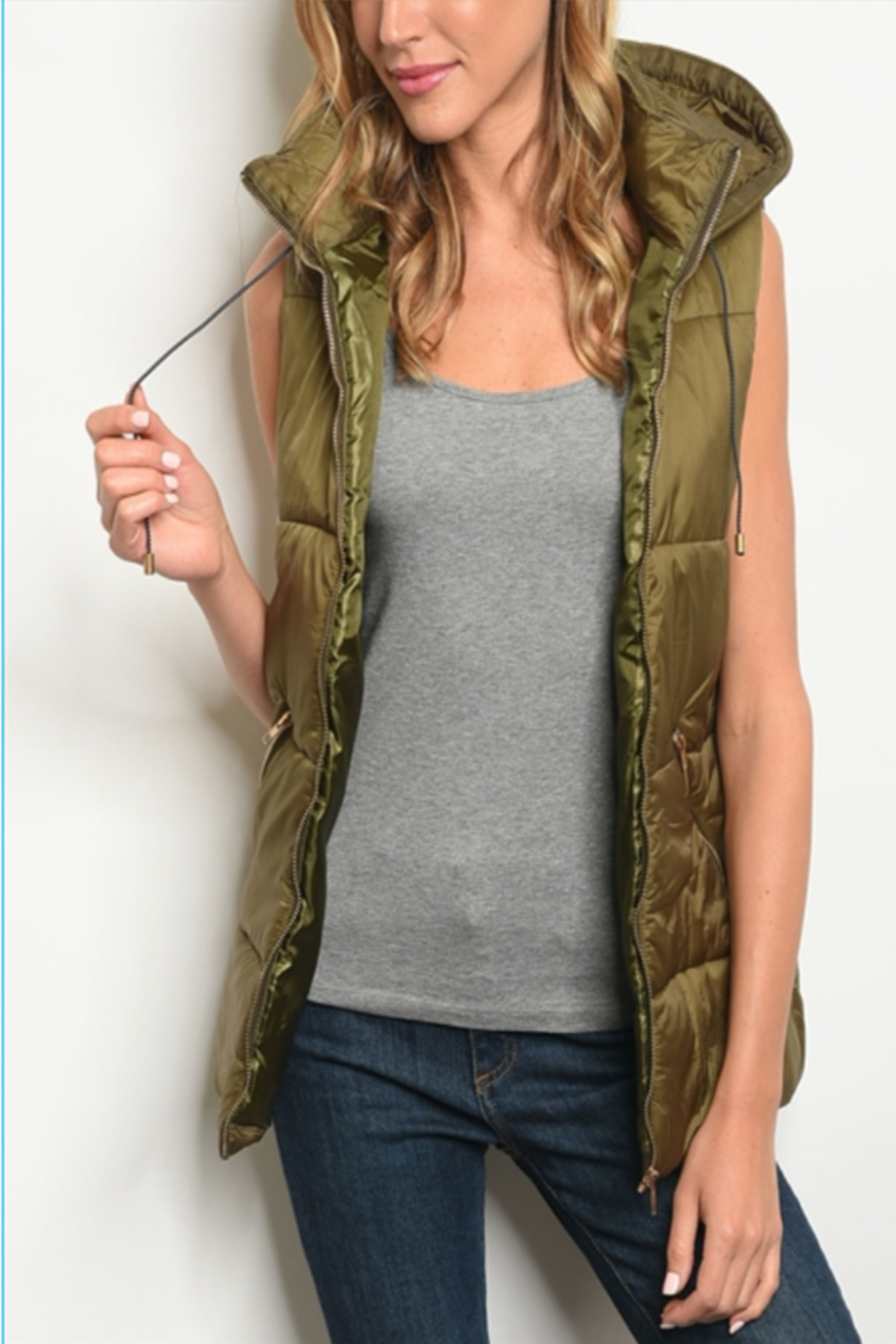 WFS Puffy Vest - Main Image