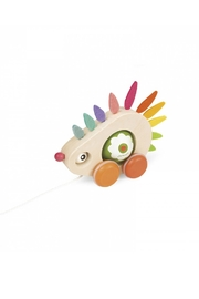 Janod Pull-Along Hedgehog - Front full body