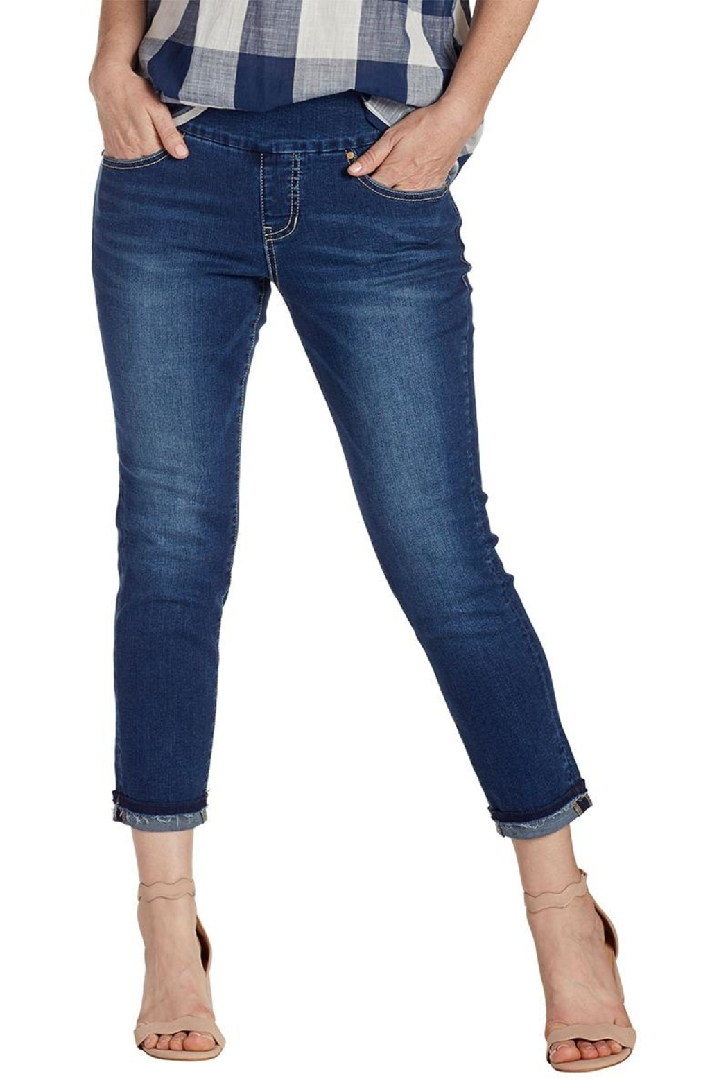 JAG Jeans Pull-On Ankle Jean - Main Image