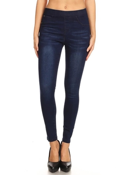 Color 5 Pull-On Basic Jegging - Product List Image