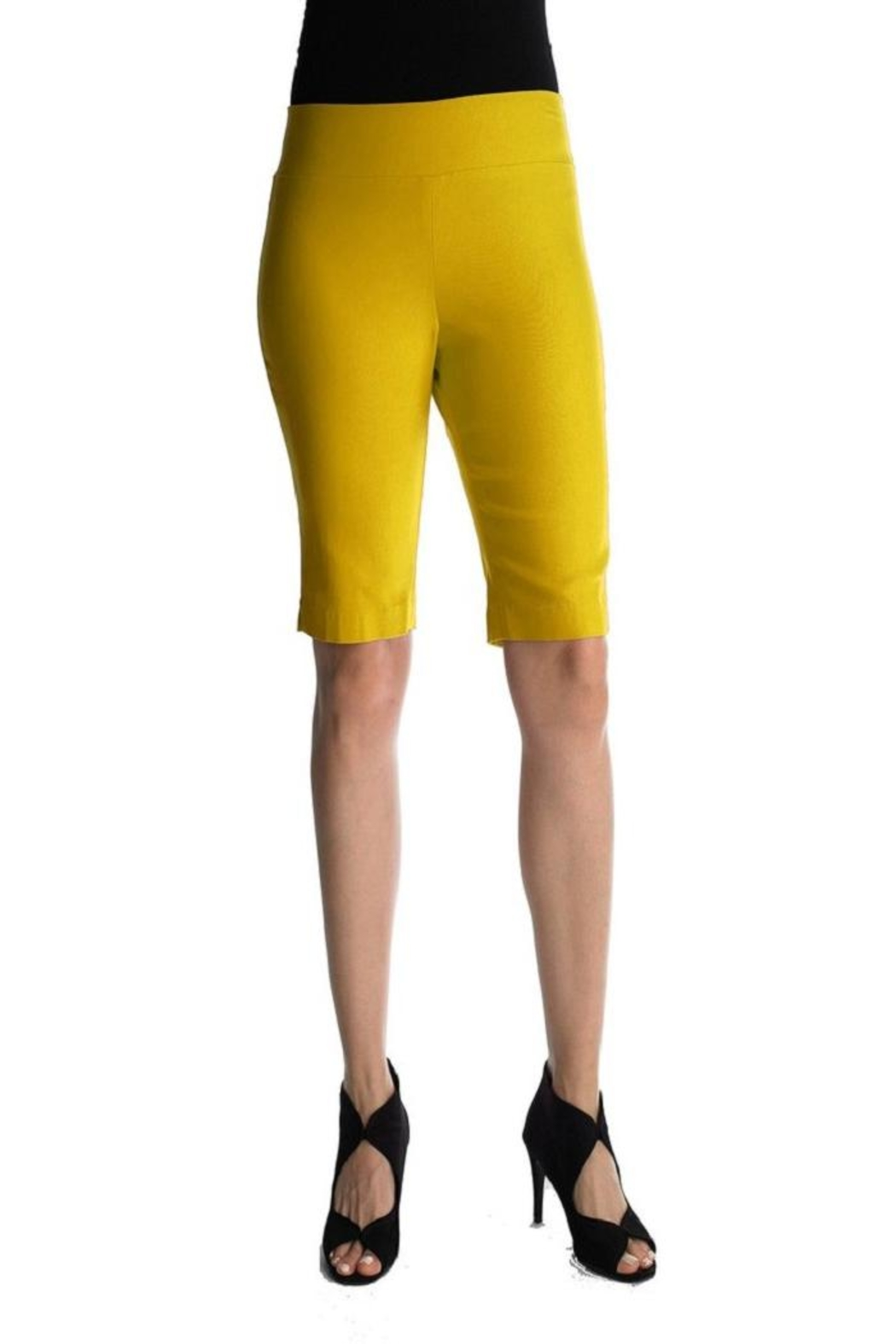 Focus 2000 Pull-On Bermuda Shorts` - Front Cropped Image