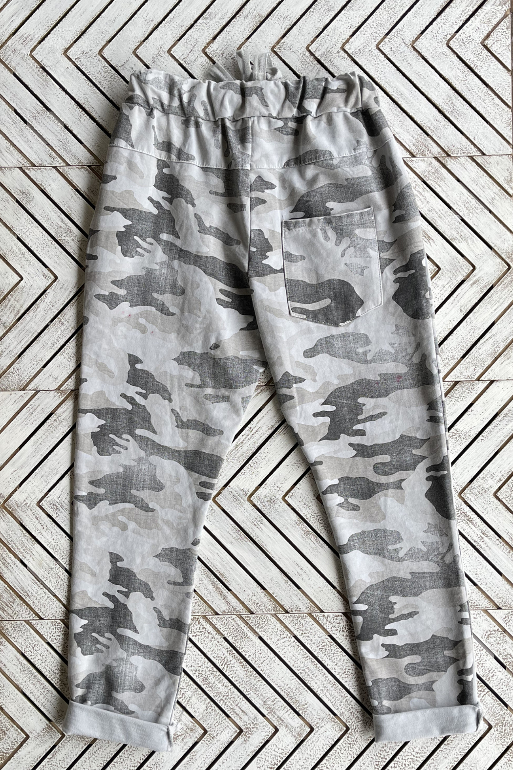 Brand Bazar Pull-on Camo Joggers - Front Full Image