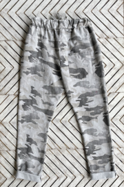 Brand Bazar Pull-on Camo Joggers - Front full body