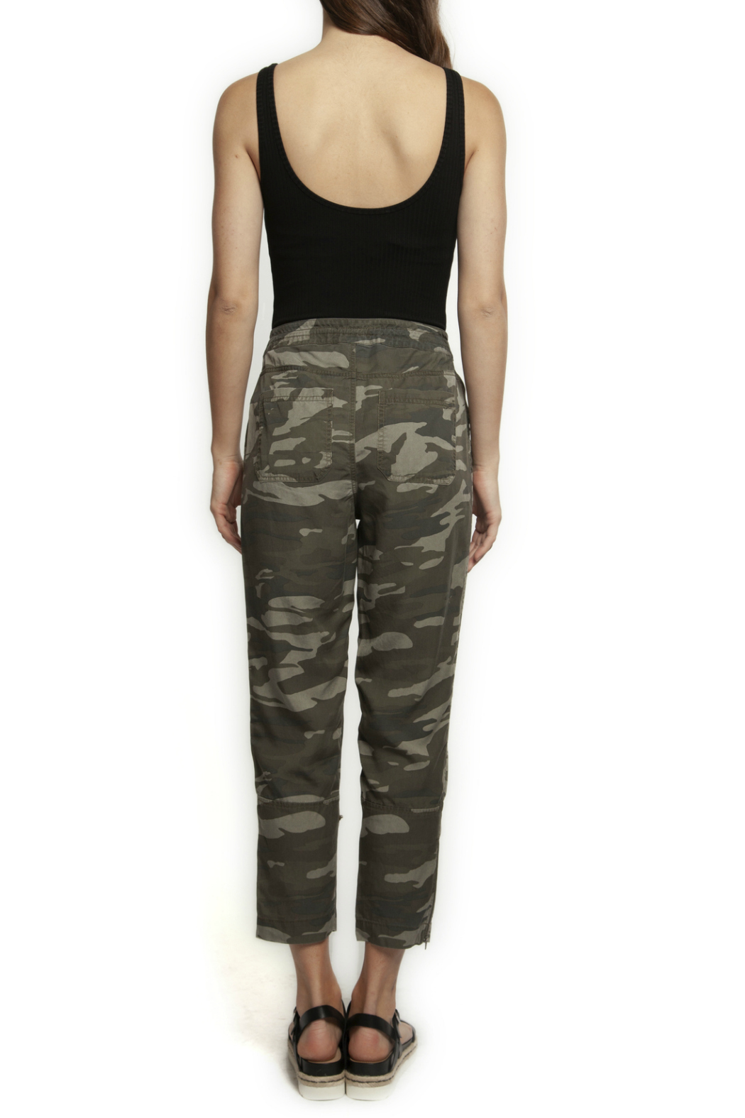 Dex Pull On Cargo Camo Pant - Front Full Image