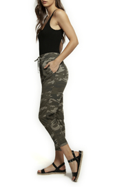 Dex Pull On Cargo Camo Pant - Front cropped