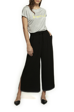Shoptiques Product: Pull On Culotte w Contrast Stitching