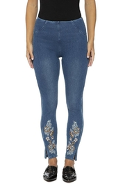 Lysse Pull-On Denim Leggings - Product Mini Image
