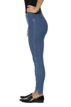Lysse Pull-On Denim Leggings - Alternate List Image