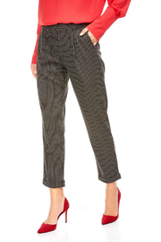 Best Mountain Pull on Elastic Waist Pin Stripe Pants - Product Mini Image