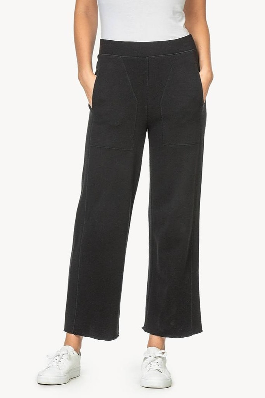 Lilla P Pull on French Terry Pants - Main Image
