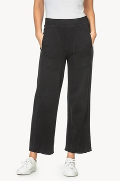 Lilla P Pull on French Terry Pants - Product List Image