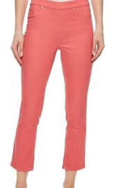 Tribal  pull on jean capris - Front cropped