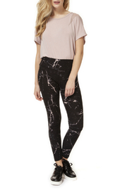 Dex Pull On Marble Print Legging - Product Mini Image
