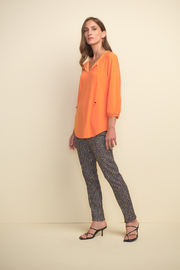 Joseph Ribkoff  pull on multi color check pant - Other