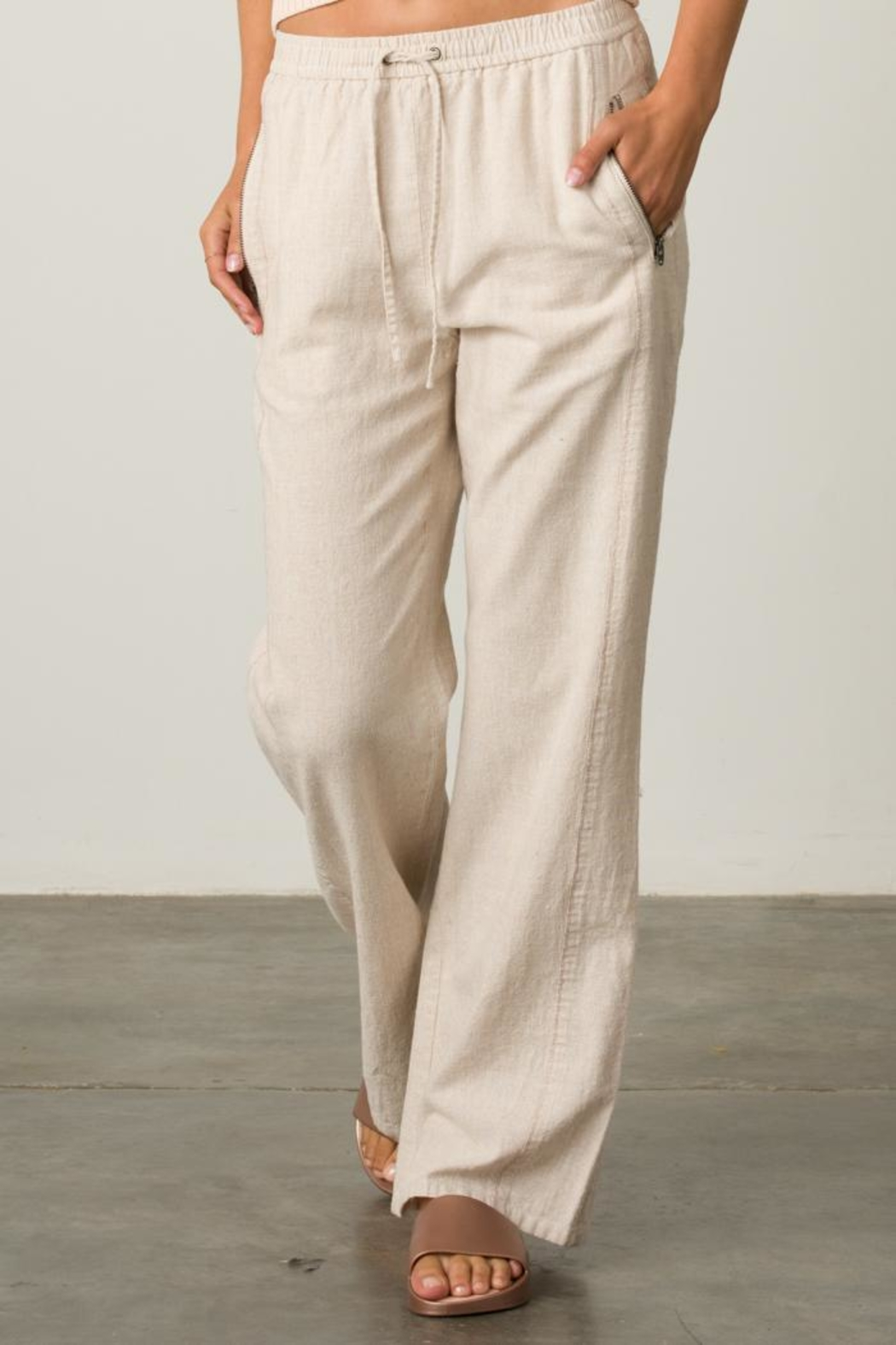 Margaret O'Leary Pull On Pant - Front Cropped Image