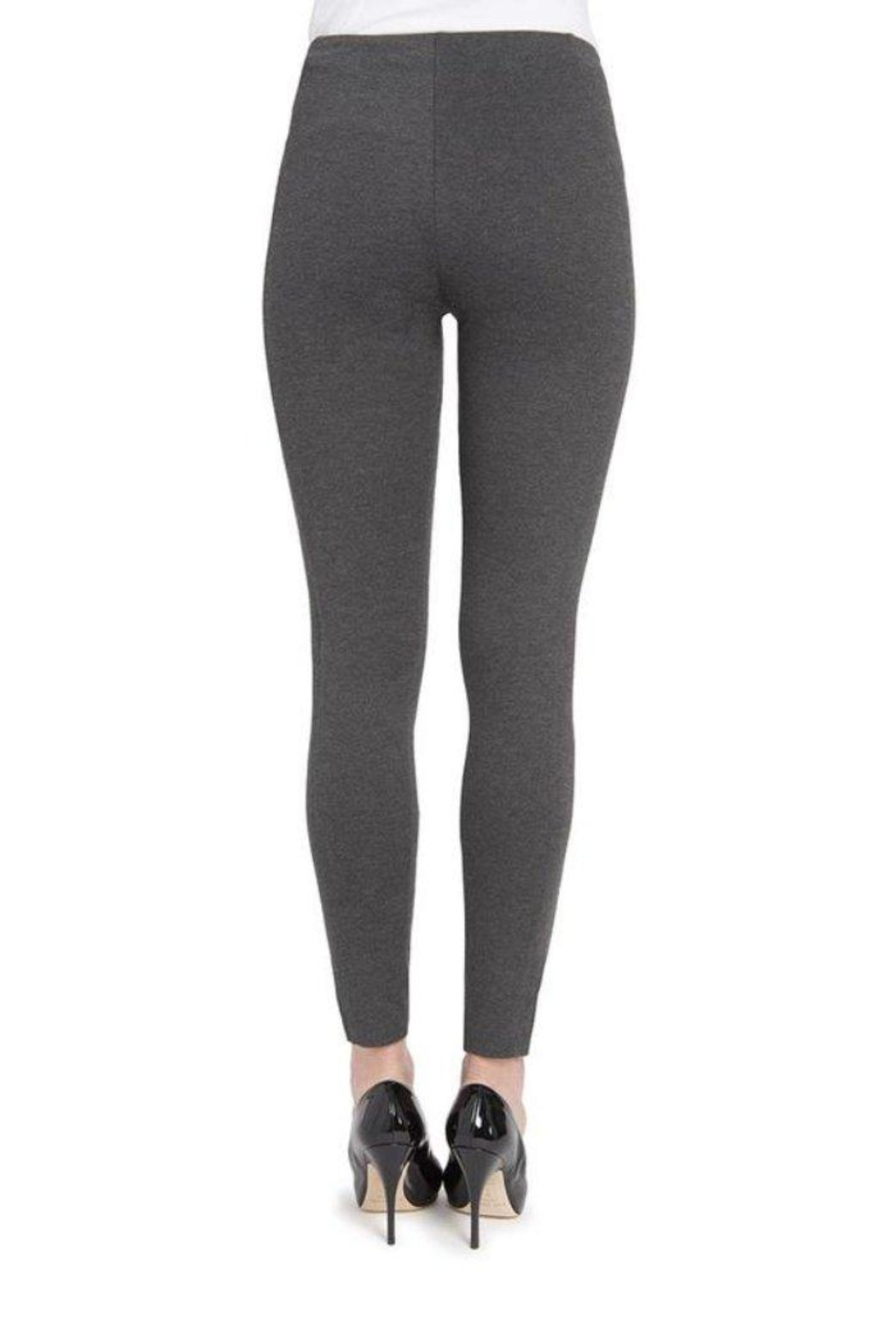 Lyssé Pull-On Seamed Leggings - Side Cropped Image