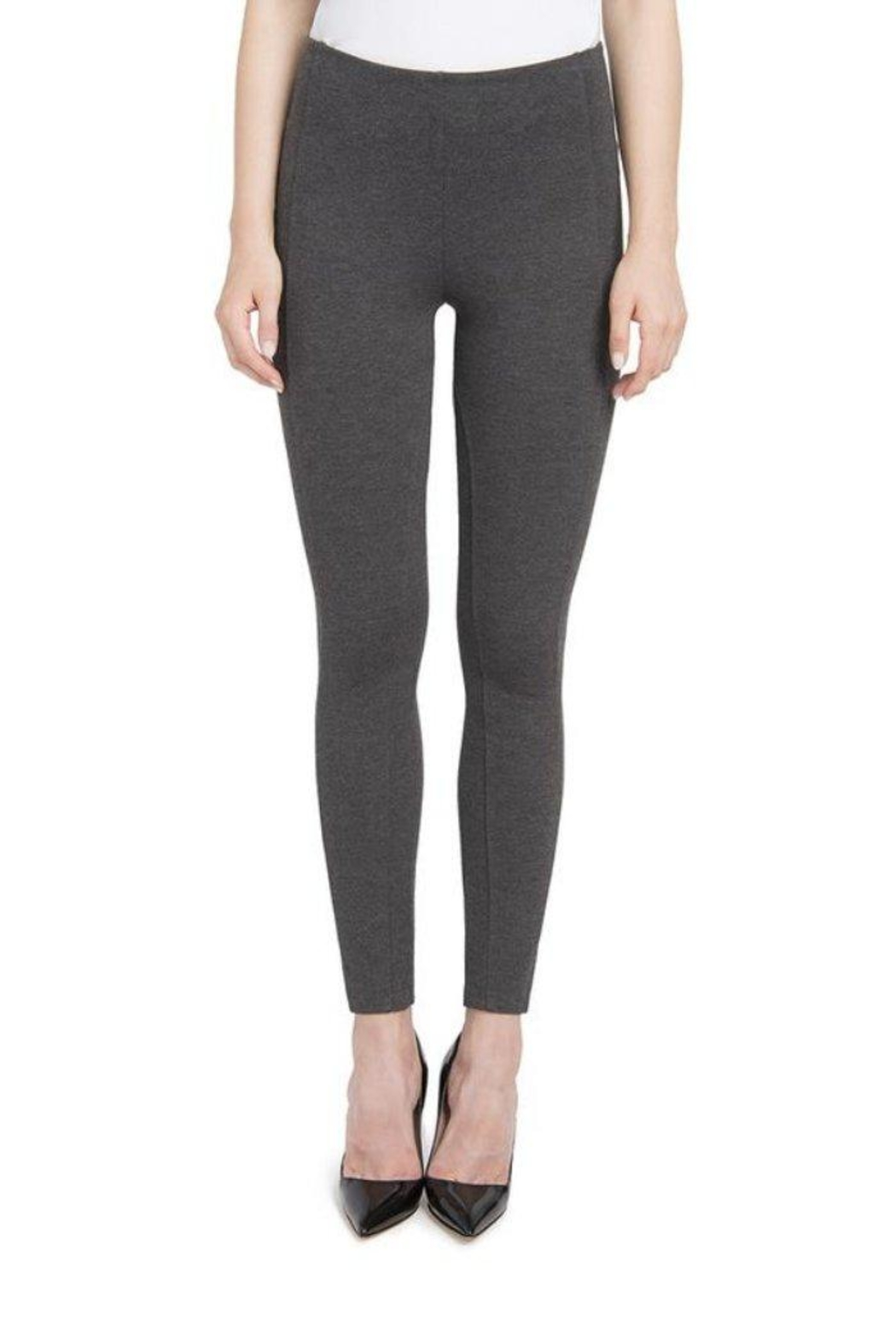 Lyssé Pull-On Seamed Leggings - Front Cropped Image