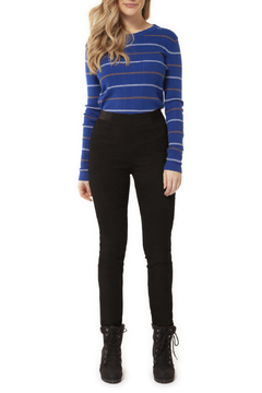 Dex Pull On Suede Legging - Product List Image