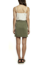 Dex Pull On Tie Front Skirt - Front full body
