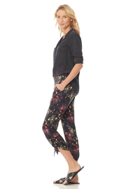 Ecru Pull On Tropical Cinch Pant - Product Mini Image